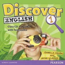 Discover English 1 Class Audio CDs