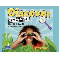 Discover English 3 Class Audio CDs