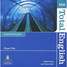 New Total English Elementary Class Audio CDs