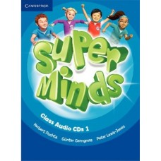 Super Minds Level 1 Class Audio CDs (лицензия)