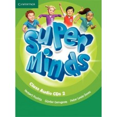 Super Minds Level 2 Class Audio CDs (лицензия)