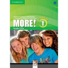 More! (2nd edition) Level 1 Audio CDs