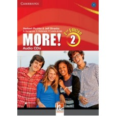 More! (2nd edition) Level 2 Audio CDs