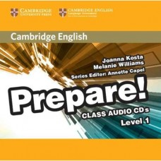 Prepare! Level 1 Class Audio CDs