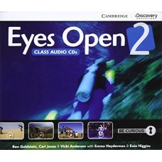 Eyes Open Level 2 Class Audio CDs