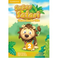 Super Safari Level 2 Class Audio CDs (лицензия)