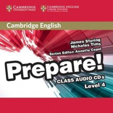 Prepare! Level 4 Class Audio CDs