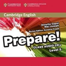 Prepare! Level 5 Class Audio CDs