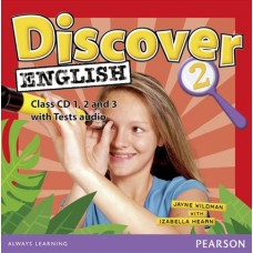 Discover English 2 Class Audio CDs