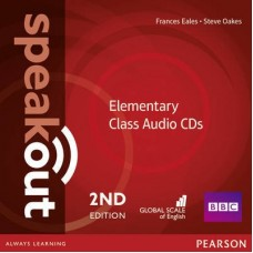 Speakout (2nd) Elementary Class Audio CDs
