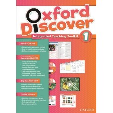 Oxford Discover 1 Teacher's Book + CD + DVD + Online Practice