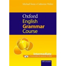 Oxford English Grammar Intermediate with Answers + CD-ROM Pack