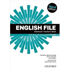 English File (3rd edition) Advanced Teacher's Book + Test Assessment CD-Rom