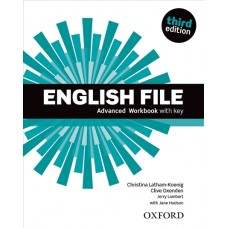 English File (3rd edition) Advanced Workbook with key
