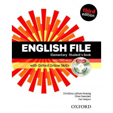 English File (3rd edition) Elementary Student's Book + iTutor DVD-ROM + Online Skills Practice Pack