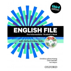 English File (3rd edition) Pre-intermediate Student's Book + iTutor DVD-ROM + Online Skills Practice Pack