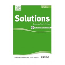 Solutions (2nd) Elementary Teacher's Book + CD-Rom
