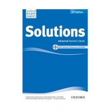 Solutions (2nd) Advanced Teacher's Book + CD-Rom