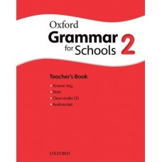 Oxford Grammar for Schools 2 Teacher's Book + Audio CD Pack