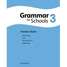 Oxford Grammar for Schools 3 Teacher's Book + Audio CD Pack