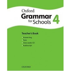 Oxford Grammar for Schools 4 Teacher's Book + Audio CD Pack