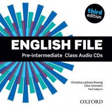 English File (3rd edition) Pre-intermediate Class Audio CDs