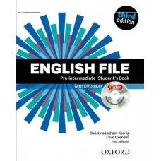 English File (3rd edition) Pre-intermediate Student's Book + iTutor DVD-ROM
