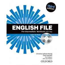 English File (3rd edition) Pre-intermediate Workbook with key