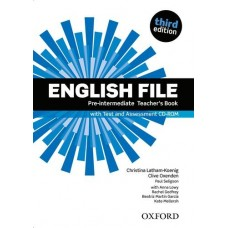 English File (3rd edition) Pre-intermediate Teacher's Book + Test Assessment CD-Rom