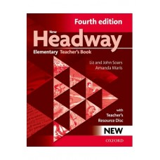 New Headway (4th) Elementary Teacher's Book + Teacher's Resource Disc