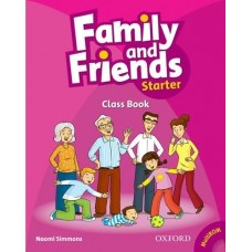 Family and Friends Starter Class Book + Student Multi-ROM