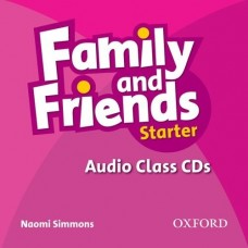 Family and Friends Starter Audio Class CD