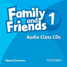 Family and Friends 1 Audio Class CD
