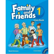 Family and Friends 1 Class Book + Student Multi-ROM