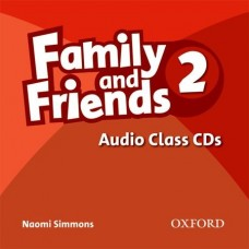Family and Friends 2 Audio Class CD