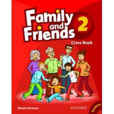 Family and Friends 2 Class Book + Student Multi-ROM