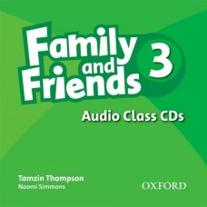 Family and Friends 3 Audio Class CD