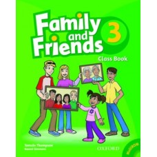 Family and Friends 3 Class Book + Student Multi-ROM