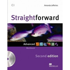 Straightforward 2nd Edition Advanced Workbook Without Key + CD