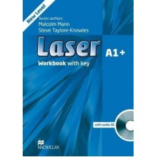 Laser (3rd) A1+ Workbook With Key + Audio CD Pack