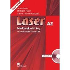 Laser (3rd) A2 Workbook With Key + Audio CD Pack