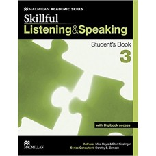 Skillful 3 Listening and Speaking Student's Book + Digibook
