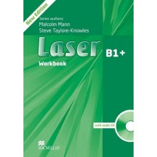 Laser (3rd) B1+ Workbook Without Key + Audio CD Pack