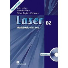 Laser (3rd) B2 Workbook With Key + Audio CD Pack