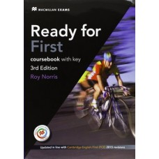 Ready for First 3rd Edition Student's Book with Key + MPO + Audio