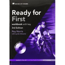 Ready for First 3rd Edition Workbook with Key + Audio CD