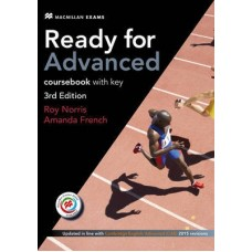 Ready for Advanced 3rd edition Student's Book with Key + MPO + Ebook