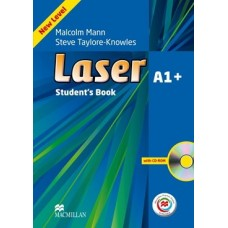 Laser (3rd) A1+ Student's Book + CD-ROM + Online