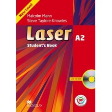 Laser (3rd) A2 Student's Book + CD-ROM + Online