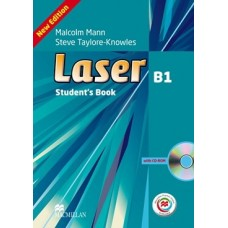 Laser (3rd) B1 Student's Book + CD-ROM + Online